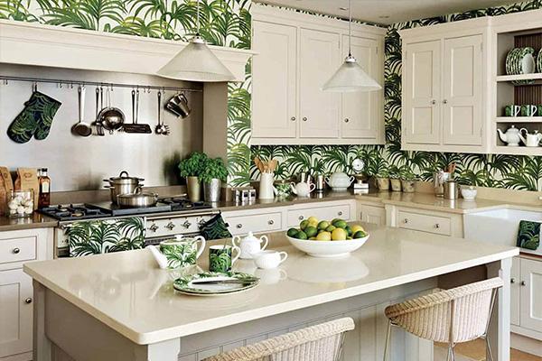 راهنمای انتخاب کاغذ دیواری آشپزخانه